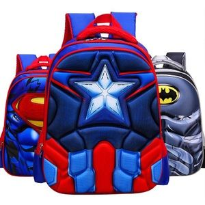 Other - New 3D Superhero Backpacks